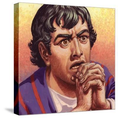 Joseph-Pat Nicolle-Stretched Canvas Print