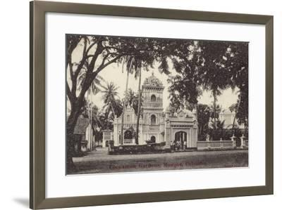 The Mosque in Cinnamon Gardens--Framed Photographic Print