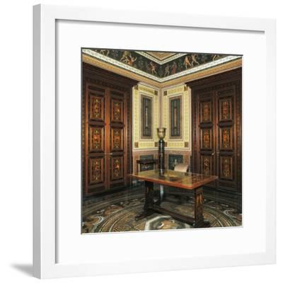Etruscan Cabinet with Works-Pelagio Palagi-Framed Giclee Print
