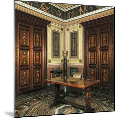 Etruscan Cabinet with Works-Pelagio Palagi-Mounted Giclee Print