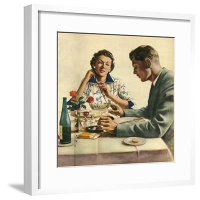 Illustration from 'John Bull', 1950S--Framed Giclee Print