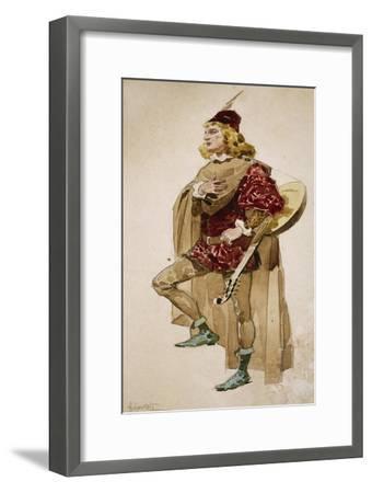 Costume Sketch-Adolfo Hohenstein-Framed Giclee Print