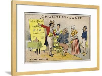 Le Charlatanisme--Framed Giclee Print