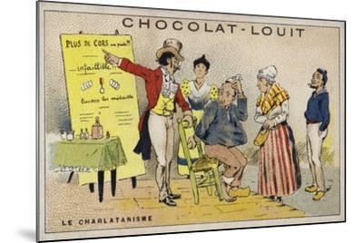 Le Charlatanisme--Mounted Giclee Print