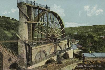 Laxey Wheel, Isle of Man--Framed Photographic Print