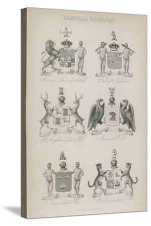 Armorial Bearings--Stretched Canvas Print