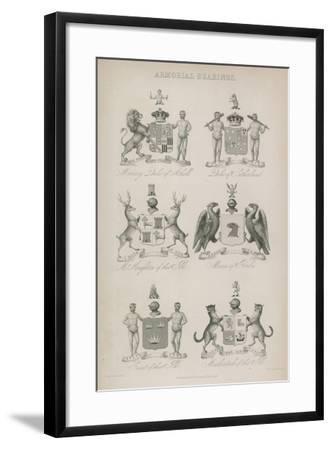 Armorial Bearings--Framed Giclee Print