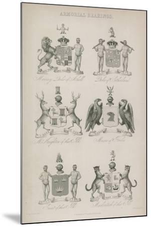Armorial Bearings--Mounted Giclee Print