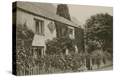 Hartley Coleridge's Cottage, Grasmere--Stretched Canvas Print