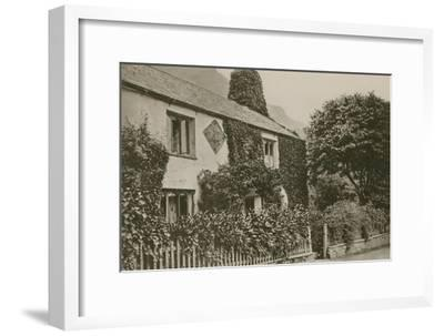 Hartley Coleridge's Cottage, Grasmere--Framed Photographic Print