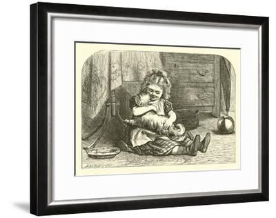 I Had a Little Doggy--Framed Giclee Print