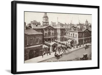 Horse Guards, Whitehall, London--Framed Photographic Print