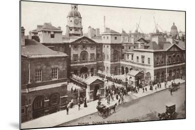 Horse Guards, Whitehall, London--Mounted Photographic Print
