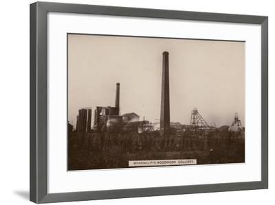 Wharncliffe Woodmor Colliery, Yorkshire--Framed Photographic Print