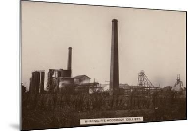 Wharncliffe Woodmor Colliery, Yorkshire--Mounted Photographic Print