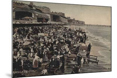 The Sands, Ramsgate--Mounted Photographic Print