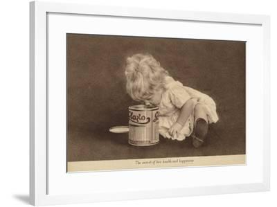 Advertisement for Glaxo Baby Food--Framed Photographic Print