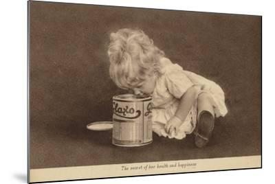 Advertisement for Glaxo Baby Food--Mounted Photographic Print