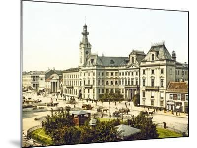 Warsaw Town Hall, 1890-1900--Mounted Photographic Print