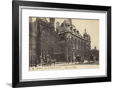 London, City of London School--Framed Photographic Print