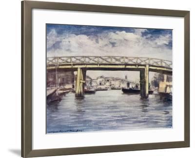 The Lemon Bridge-Mortimer Ludington Menpes-Framed Giclee Print