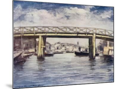 The Lemon Bridge-Mortimer Ludington Menpes-Mounted Giclee Print