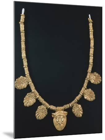 Gold Necklace from Praeneste--Mounted Photographic Print