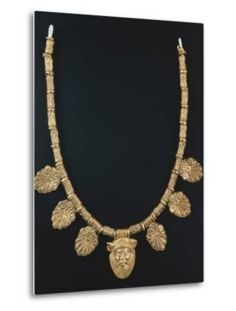 Gold Necklace from Praeneste--Metal Print