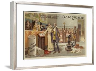 E Pur Si Muove--Framed Giclee Print