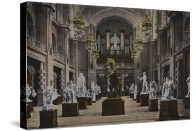 Art Galleries, Glasgow--Stretched Canvas Print