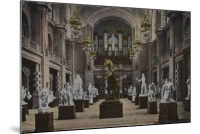Art Galleries, Glasgow--Mounted Photographic Print