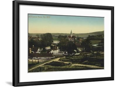 Alfriston, Sussex--Framed Photographic Print