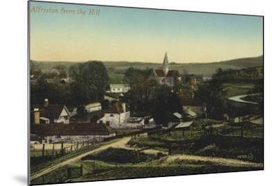 Alfriston, Sussex--Mounted Photographic Print
