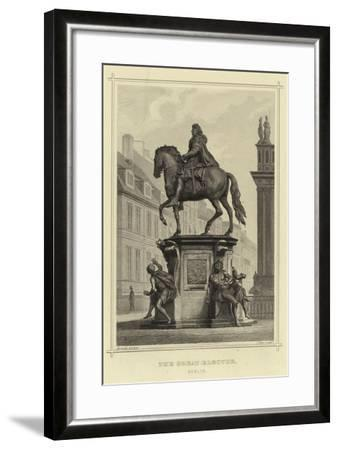 The Great Elector, Berlin--Framed Giclee Print