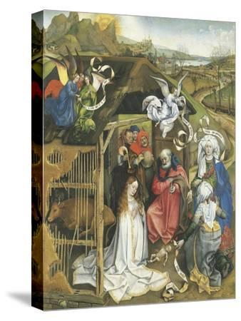 Nativity, 1425-1430--Stretched Canvas Print