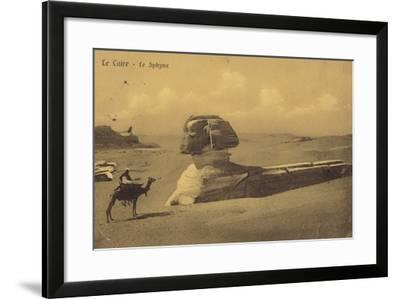 The Sphinx, Cairo, Egypt--Framed Photographic Print