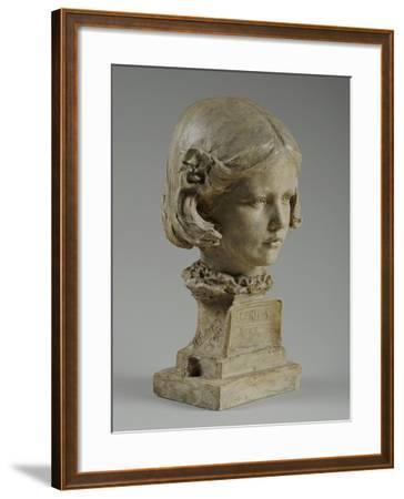 Bust of Elfrida Thornycroft, 1909-William Hamo Thornycroft-Framed Giclee Print
