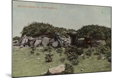 Druid's Grave, St Mary's Scilly--Mounted Photographic Print