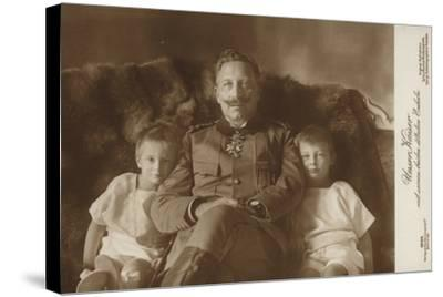 Kaiser Wilhelm II--Stretched Canvas Print