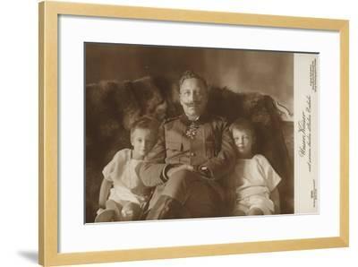 Kaiser Wilhelm II--Framed Photographic Print