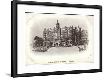 Hotel Great Central, London--Framed Photographic Print