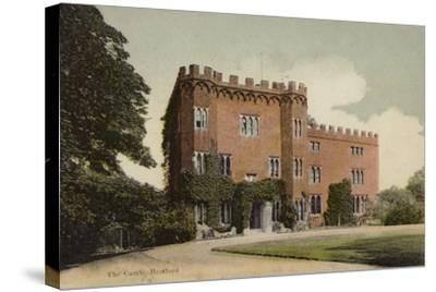 The Castle, Hertford--Stretched Canvas Print