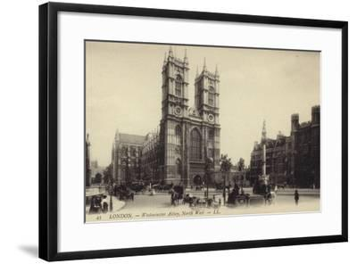 London - Westmister Abbey--Framed Photographic Print