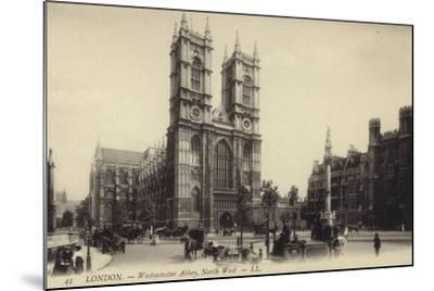London - Westmister Abbey--Mounted Photographic Print