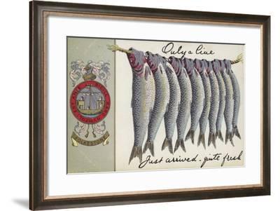 Fresh Fish of Folkstone--Framed Giclee Print