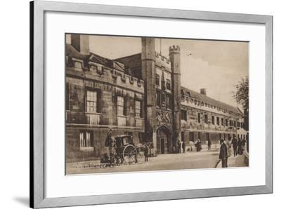 Christs College, Cambridge--Framed Photographic Print