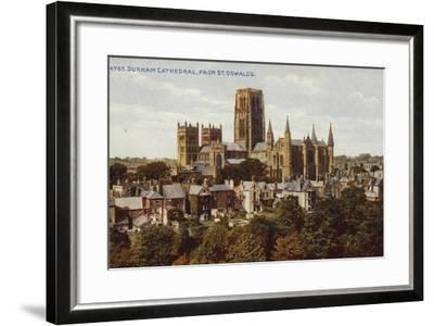 Durham Cathedral, from St Oswald'S--Framed Photographic Print