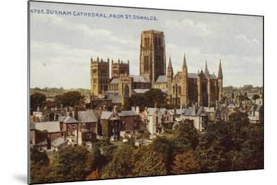 Durham Cathedral, from St Oswald'S--Mounted Photographic Print