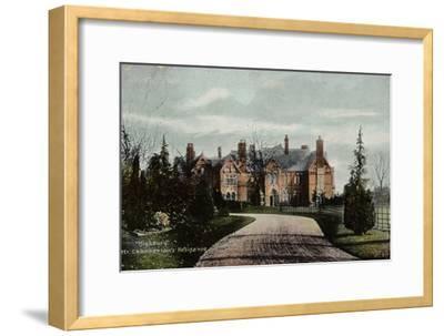 Highbury, Mr Chamberlain's Residence--Framed Photographic Print