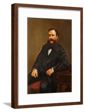 Portrait of a Local Man--Framed Giclee Print